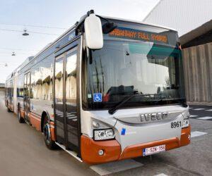 IVECO BUS veicoli ibridi consegnerà 141 autobus ibridi elettrici alla città di Bruxelles in Belgio